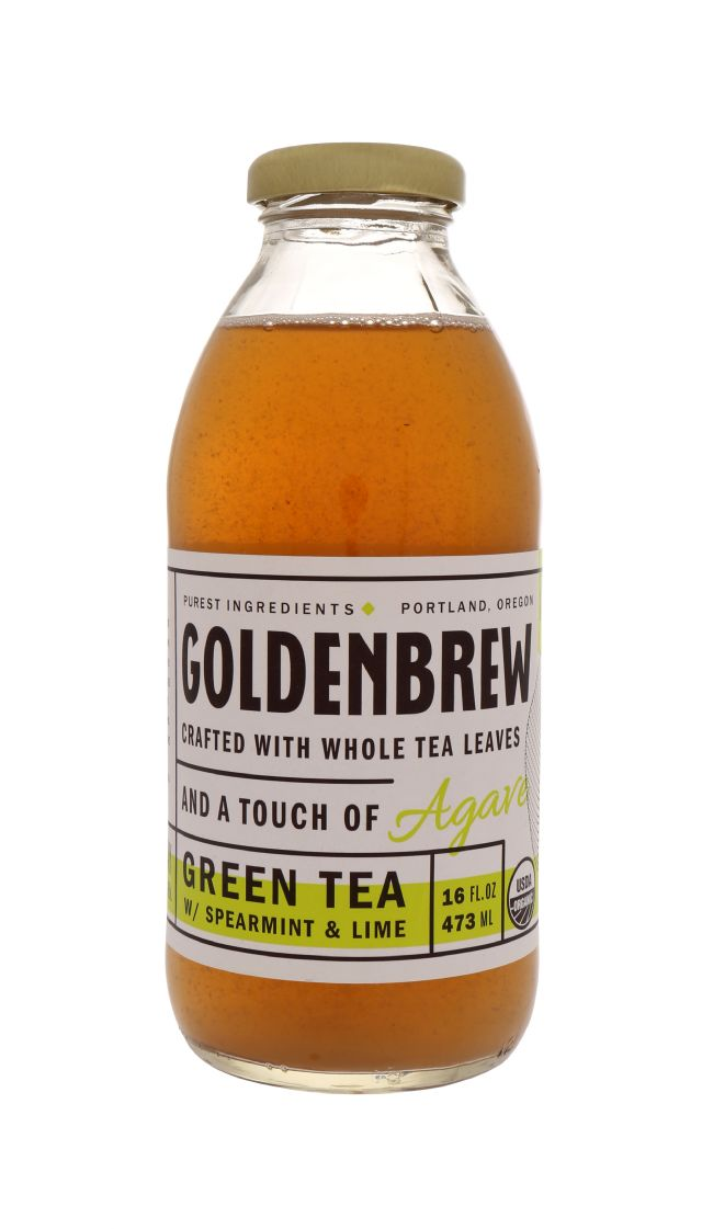 Goldenbrew Tea: GoldenBrew GreenSpearLime Front