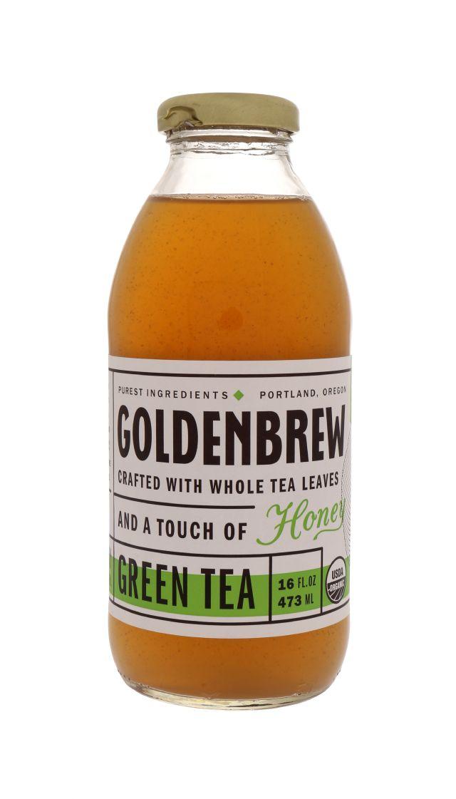 Goldenbrew Tea: GoldenBrew GreenTea Front