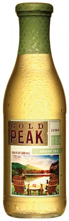 Gold Peak Iced Tea: Gold Peak Iced Tea- Green Tea