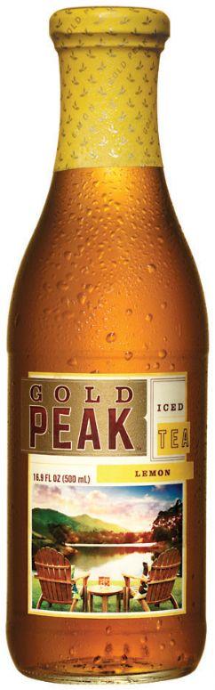 Gold Peak Iced Tea: Gold Peak Iced Tea- Lemon Flavored