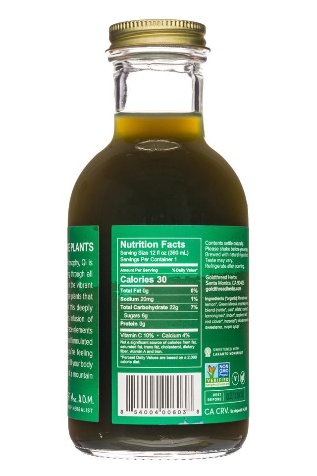 Goldthread Herbs: Goldthread-12oz-GreenMinerals-Facts