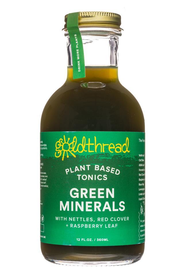 Goldthread Herbs: Goldthread-12oz-GreenMinerals-Front