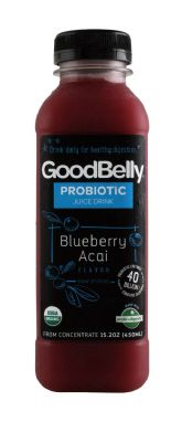 GoodBelly Probiotics Blueberry Acai