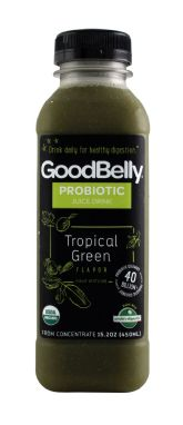 GoodBelly Probiotics Tropical Green