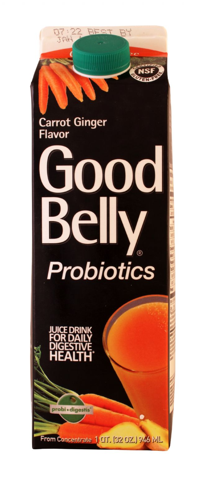 GoodBelly: GoodBelly CarrotGing Front
