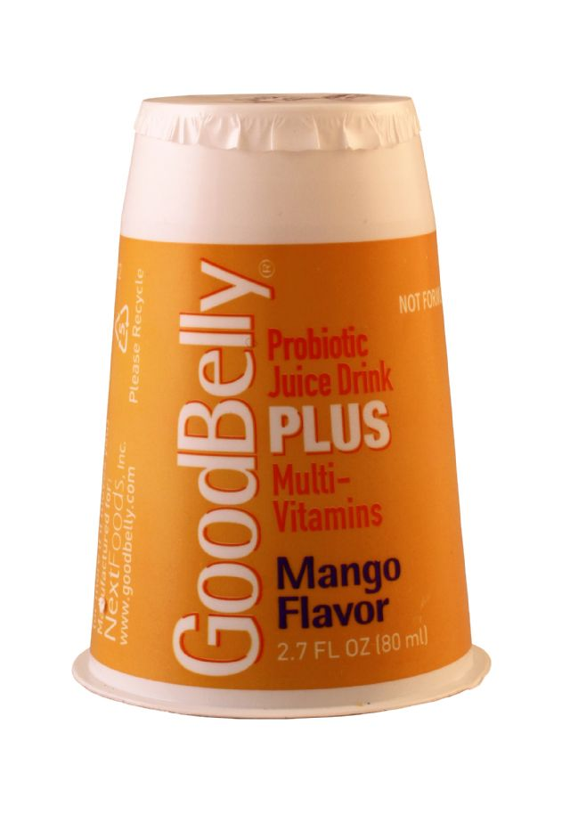 GoodBelly: GoodBelly PlusMango Front