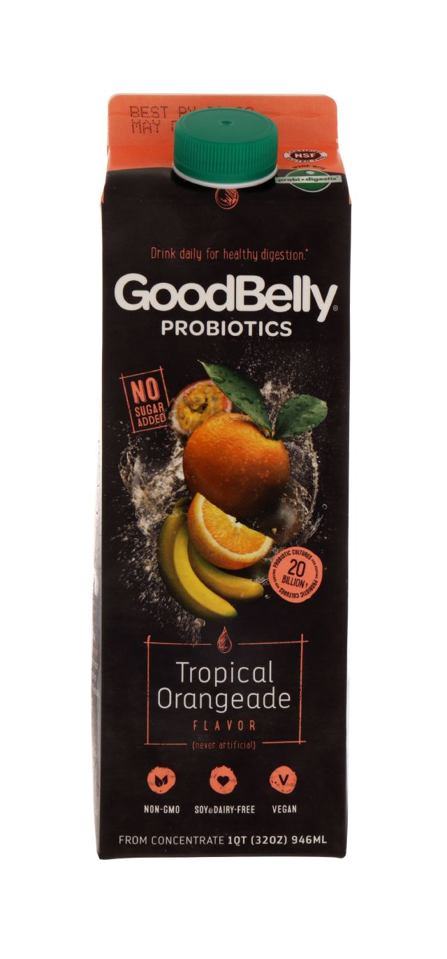 GoodBelly: GoodBelly TropOrang Front