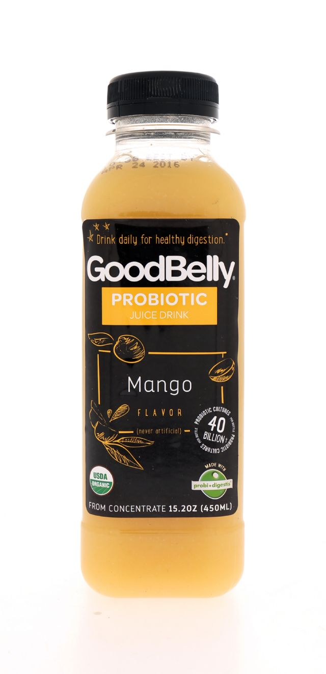 GoodBelly: Goodbelly Mango Front
