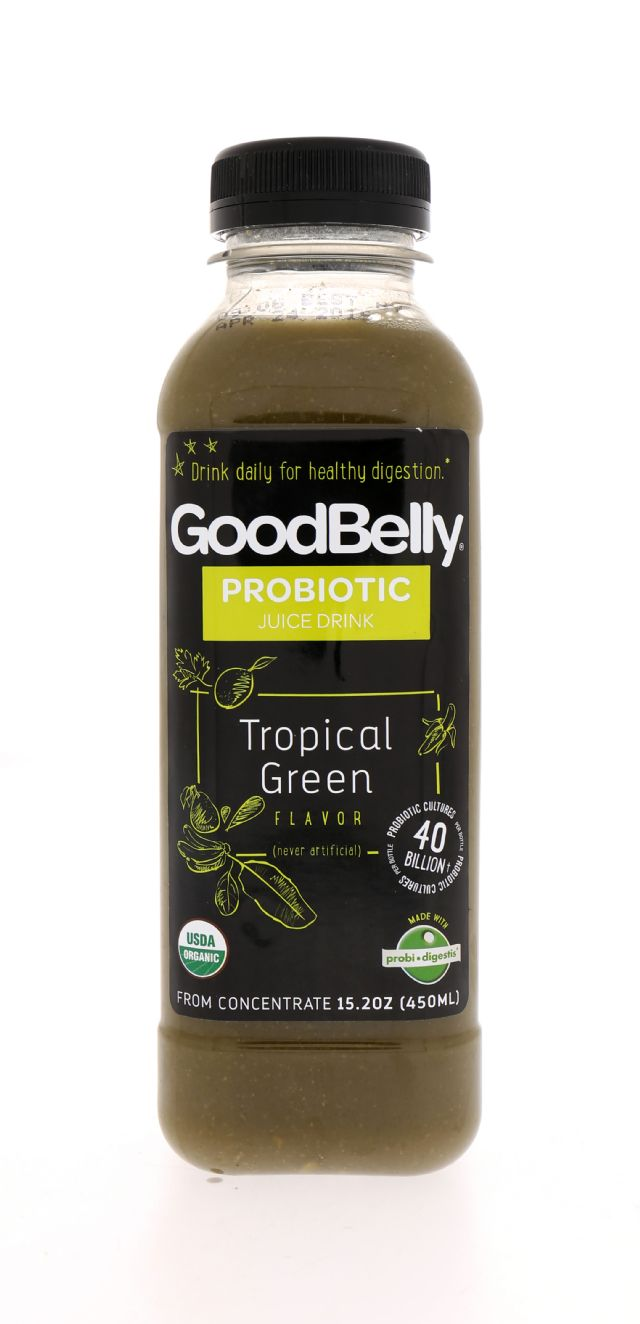 GoodBelly: Goodbelly TropGreen Front