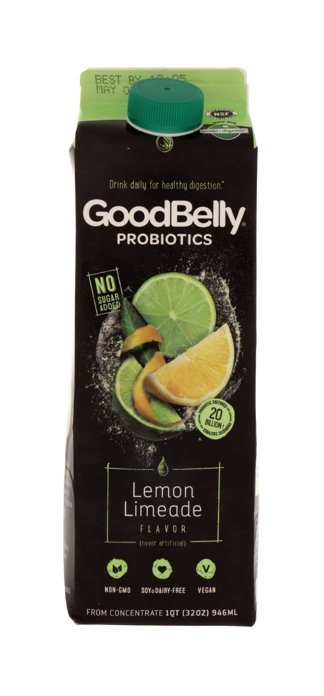 GoodBelly: GoodBelly LemLime Front