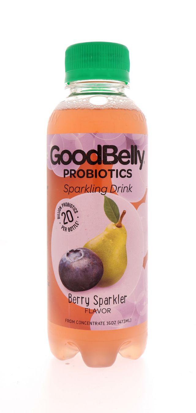 GoodBelly: GoodBelly BerrySpark Front