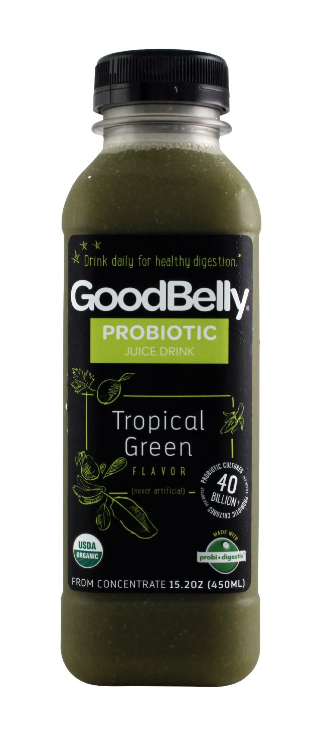 GoodBelly: GoodBelly TropicalGreen Front