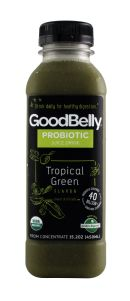 GoodBelly TropicalGreen Front