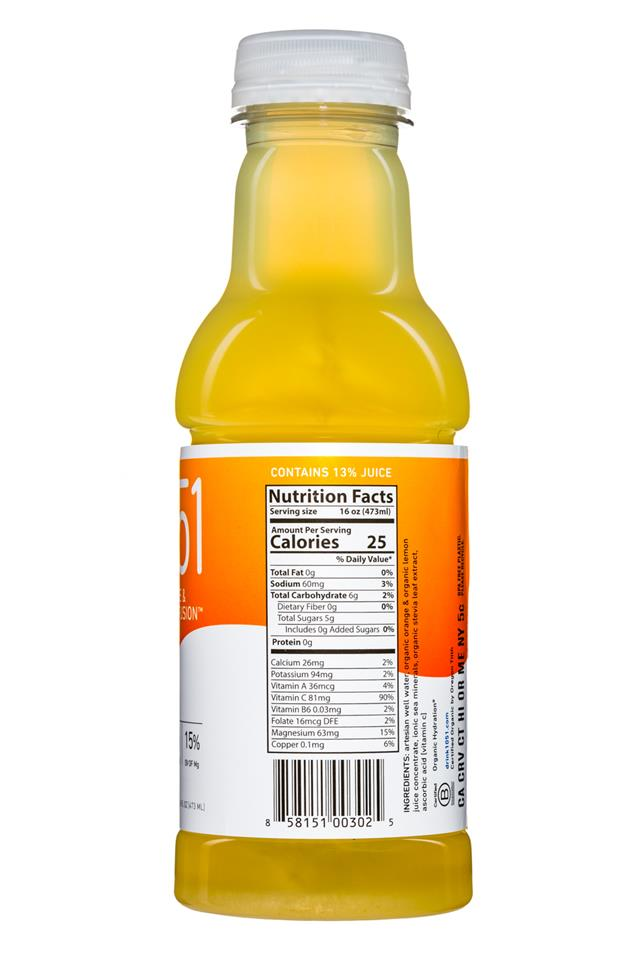 1051: Goodonya-Drink1051-16oz-Orange-Facts