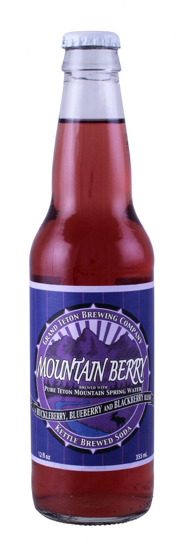 Grand Teton Brewing Company: GrandTeton MountainBerry Front
