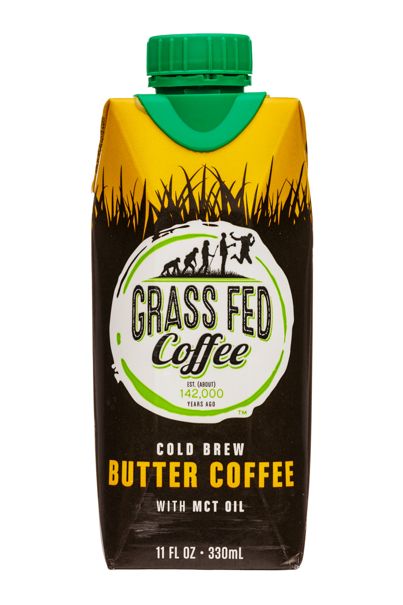 Cold Brew Butter Coffee