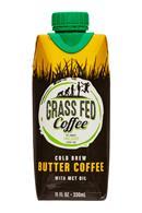 Grass Fed Coffee: GrassFedCoffee-11oz-ColdBrew-ButterCoffee-Front