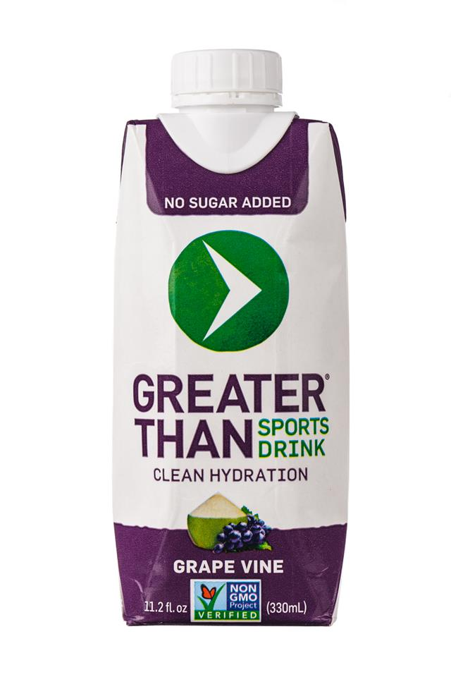 Greater Than: GreaterThan-SportsDrink-GrapeVine-Front