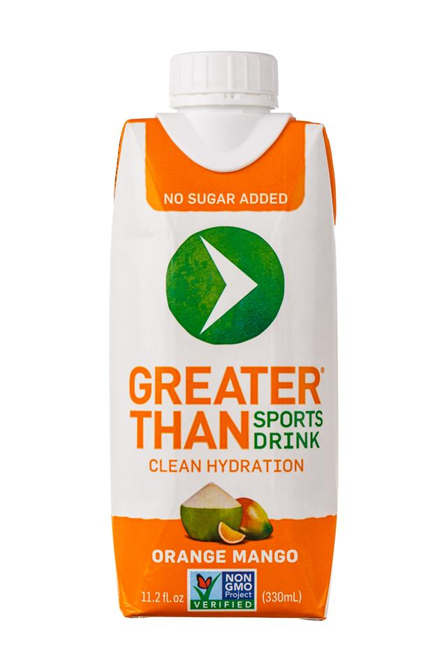 Greater Than: GreaterThan-SportsDrink-OrangeMango-Front