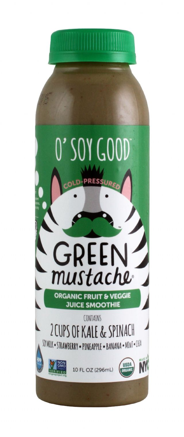 Green Mustache: GreenMustache OSoyGood Front