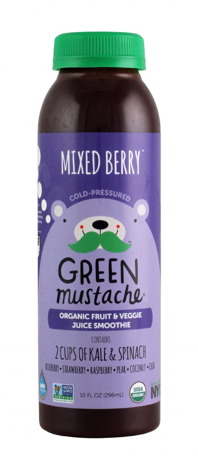 Green Mustache: GreenMustache MixedBerry Front