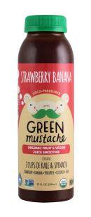 Green Mustache: GreenMustache StrawBan Front