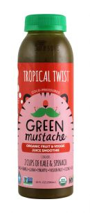Green Mustache: GreenMustache Tropical Front