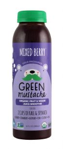 Green Mustache: GreenMustache MixedBerry Front