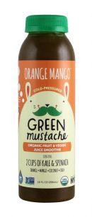 Green Mustache: GreenMustache Orange Front