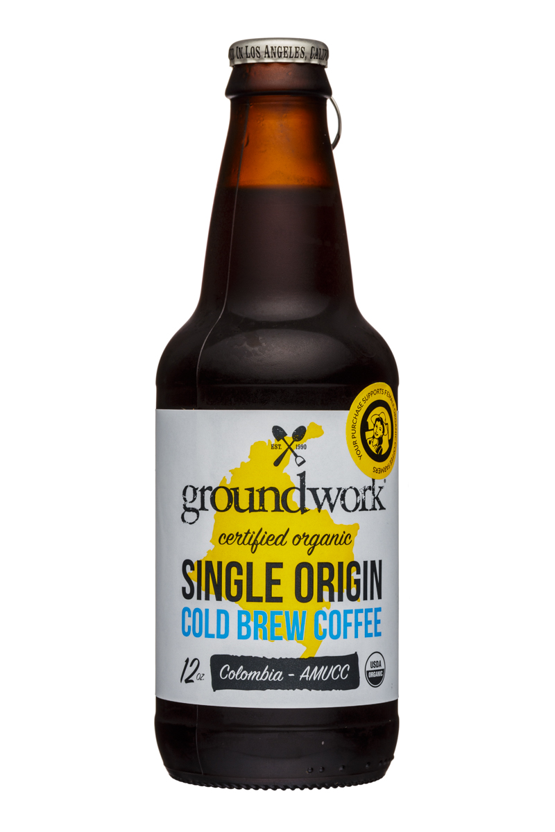Single Origin Cold Brew Coffee - Columbia AMUCC