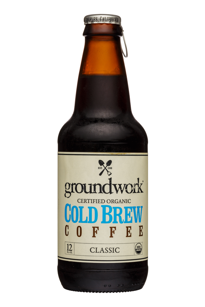Groundwork Coffee Co.: Groundwork-12oz-ColdBrew-Classic-Front