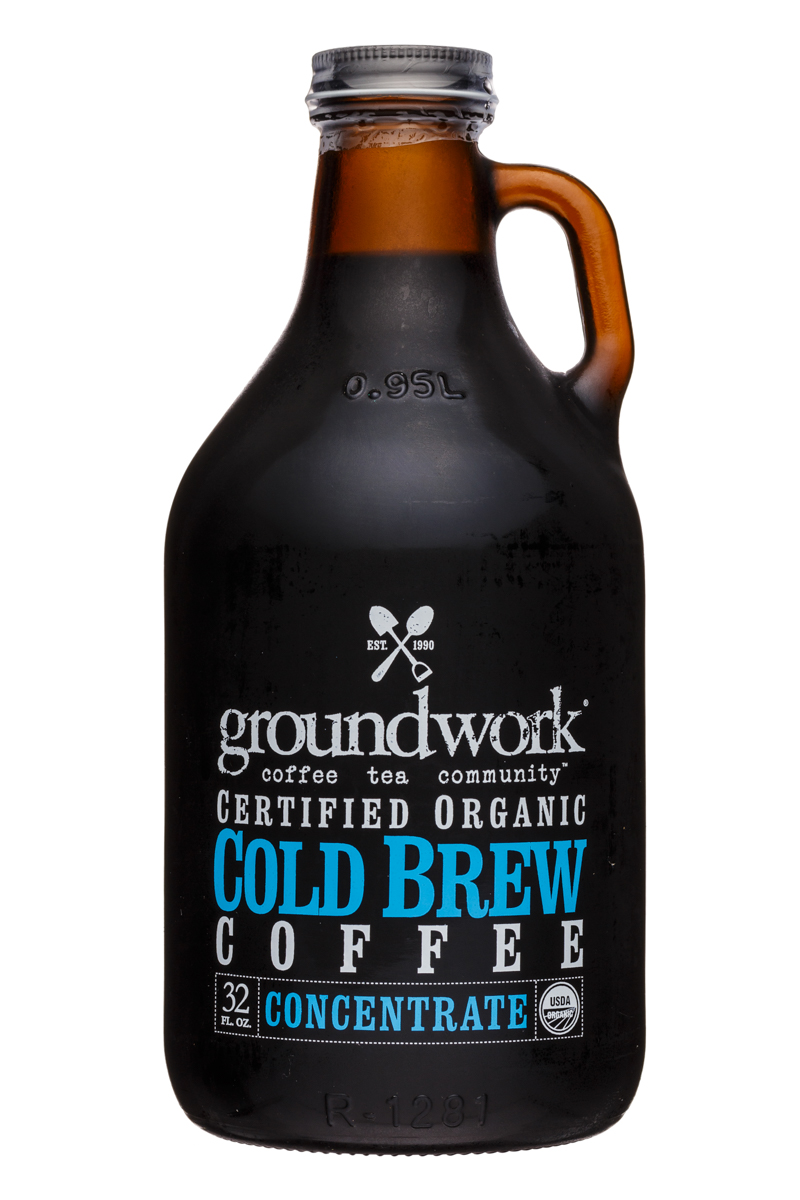 Groundwork Coffee Co.: Groundwork-32oz-ColdBrew-Concentrate-Front