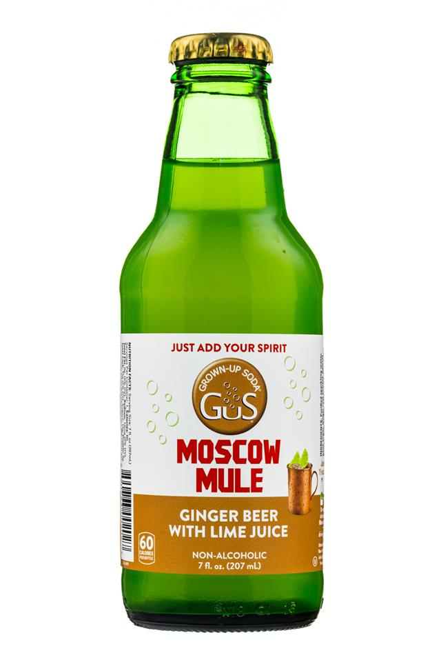 GuS Single Serve Mixers: GUS-7oz-MoscowMule-GingerBeerLimeJuice