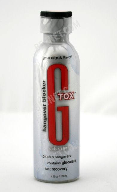 GTOX Detox & Recovery Shot: