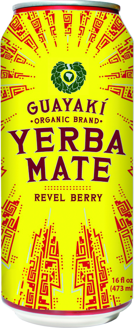 Guayakí Yerba Mate Organic Energy Drink: revel berry