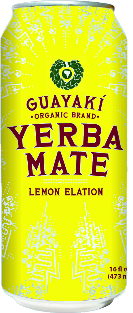 Guayakí Yerba Mate Organic Energy Drink: lemon elation