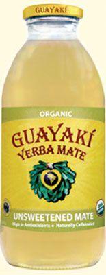 Guayakí Yerba Mate Organic Energy Drink: Unsweetened Yerba Mate