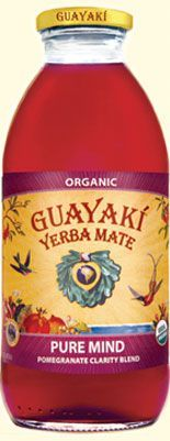 Guayakí Yerba Mate Organic Energy Drink: Pure Mind