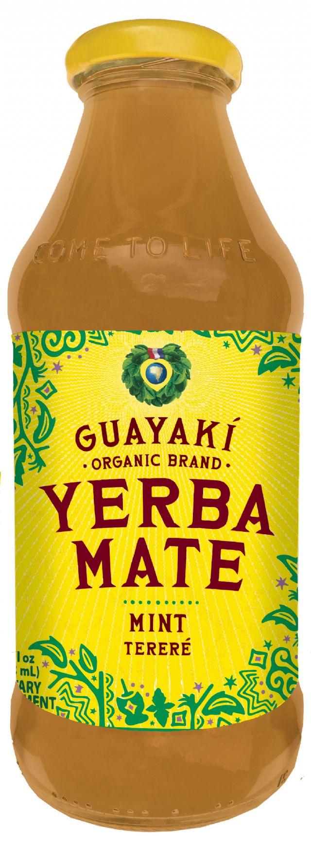 Guayakí Yerba Mate Organic Energy Drink: mint 2015
