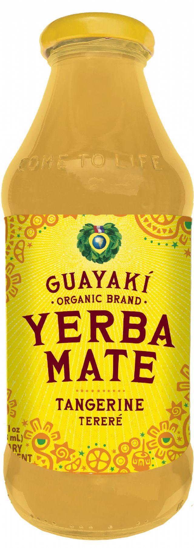 Guayakí Yerba Mate Organic Energy Drink: tangerine 2015