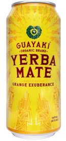 Guayakí Yerba Mate Organic Energy Drink: orange exuberance