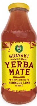 Guayakí Yerba Mate Organic Energy Drink: usnweet hibiscus