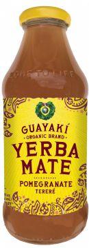 Guayakí Yerba Mate Organic Energy Drink: Pomegranate 2015