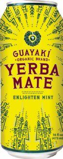 Guayakí Yerba Mate Organic Energy Drink: enlighten mint