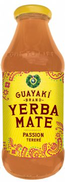 Guayakí Yerba Mate Organic Energy Drink: passion 2015