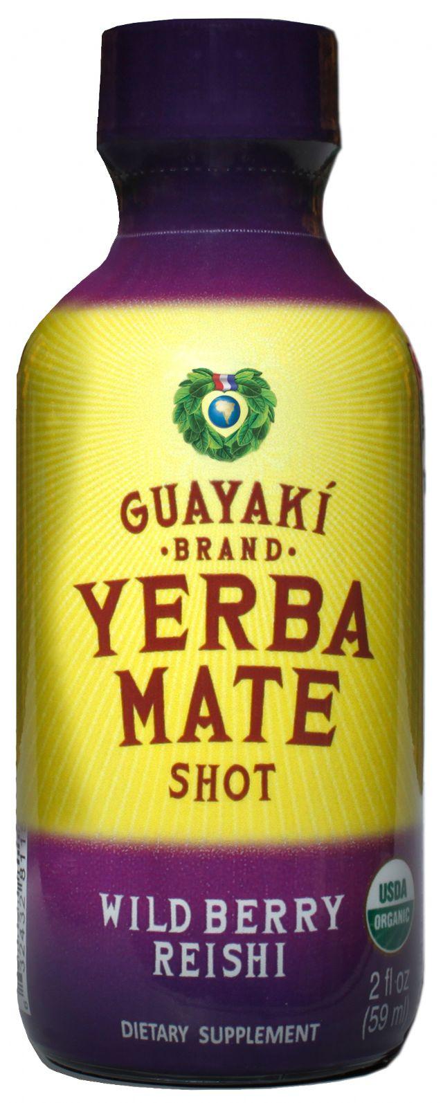 Guayaki Organic Energy Shot: reishi shot