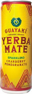 Guayaki Sparkling Yerba Mate: cranPom