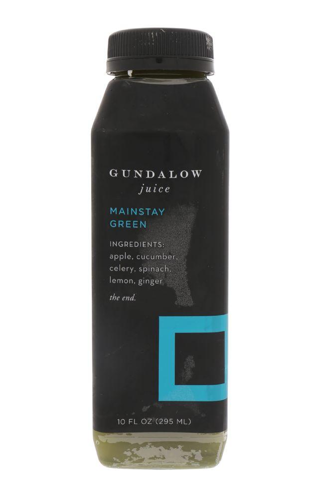 Gundalow Juice: MainStayGreen_Front