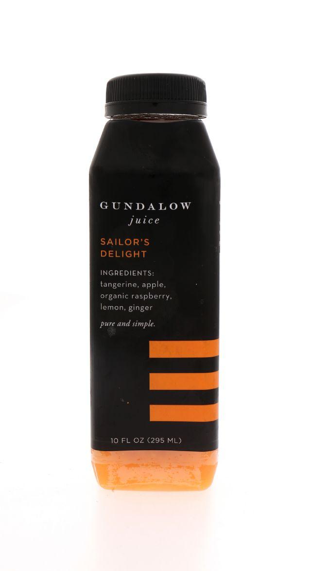 Gundalow Juice: Gundalow SailorsDelight FRont