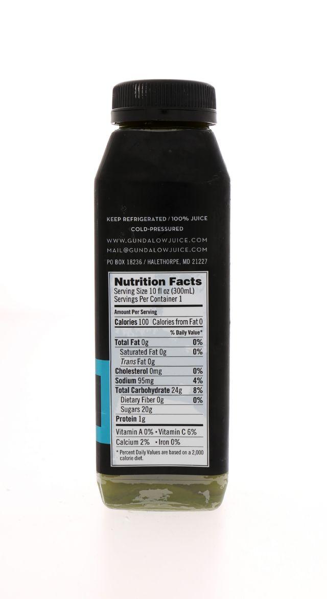 Gundalow Juice: Gundalow MainStayGreen Facts